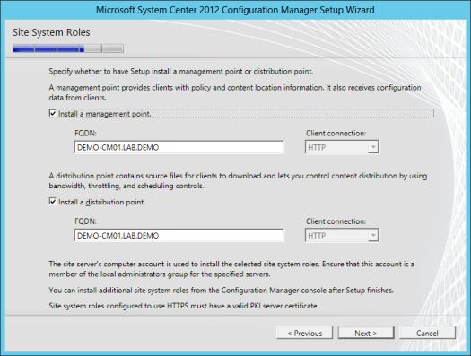SCCM 2012 Setup Guide | JDeployment