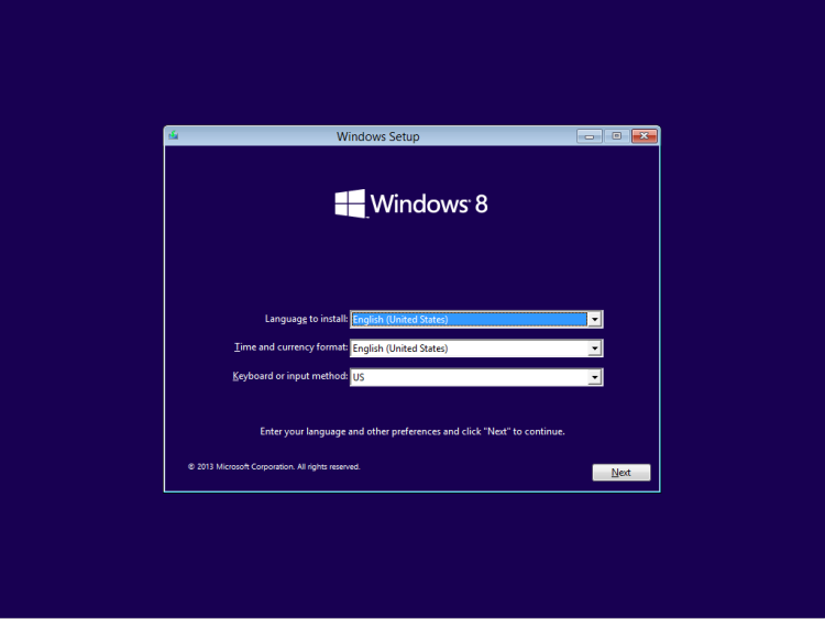 Windows 8.1 Preview Installation