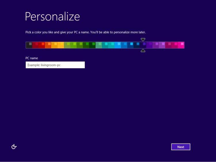 Personalize Windows 8.1