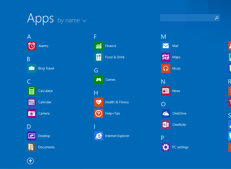Windows 8.1 Update Apps