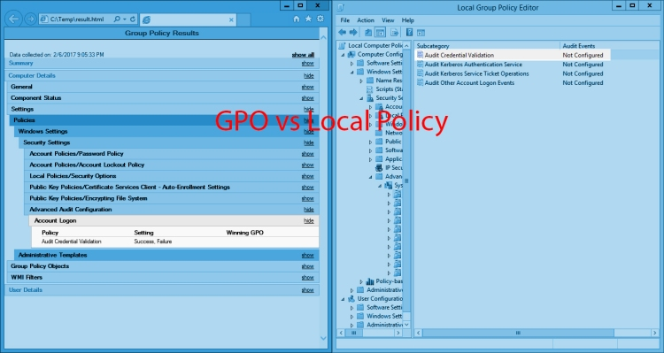 Notes from the Field: GPO vs Local Policies | JDeployment