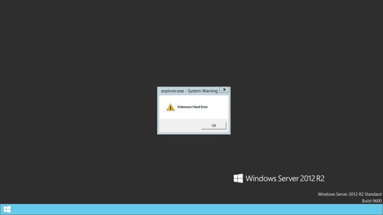 explorer exe windows server 2008 r2