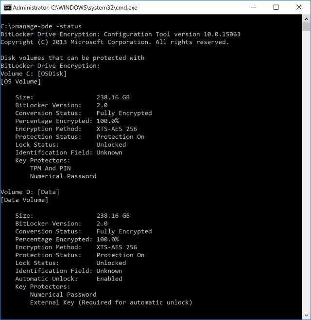 Windows 10 OSD: Enabling BitLocker XTS-AES 256 on Multiple