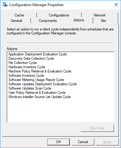 Solved: Specific Windows 10 1703 Computers not showing in
