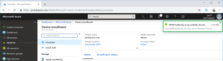 Microsoft Intune: Enrolling Android Device | JDeployment