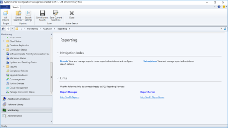 Installing SCCM Reporting Services Point